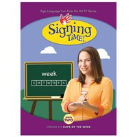 Signing Time Series 2 - Volume 6- Days of the Week -DVD