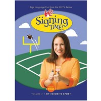 Signing Time Series 2 - Volume 7- My Favorite Sport -DVD