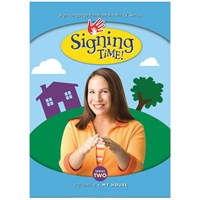 Signing Time Series 2 - Volume 8- My House -DVD