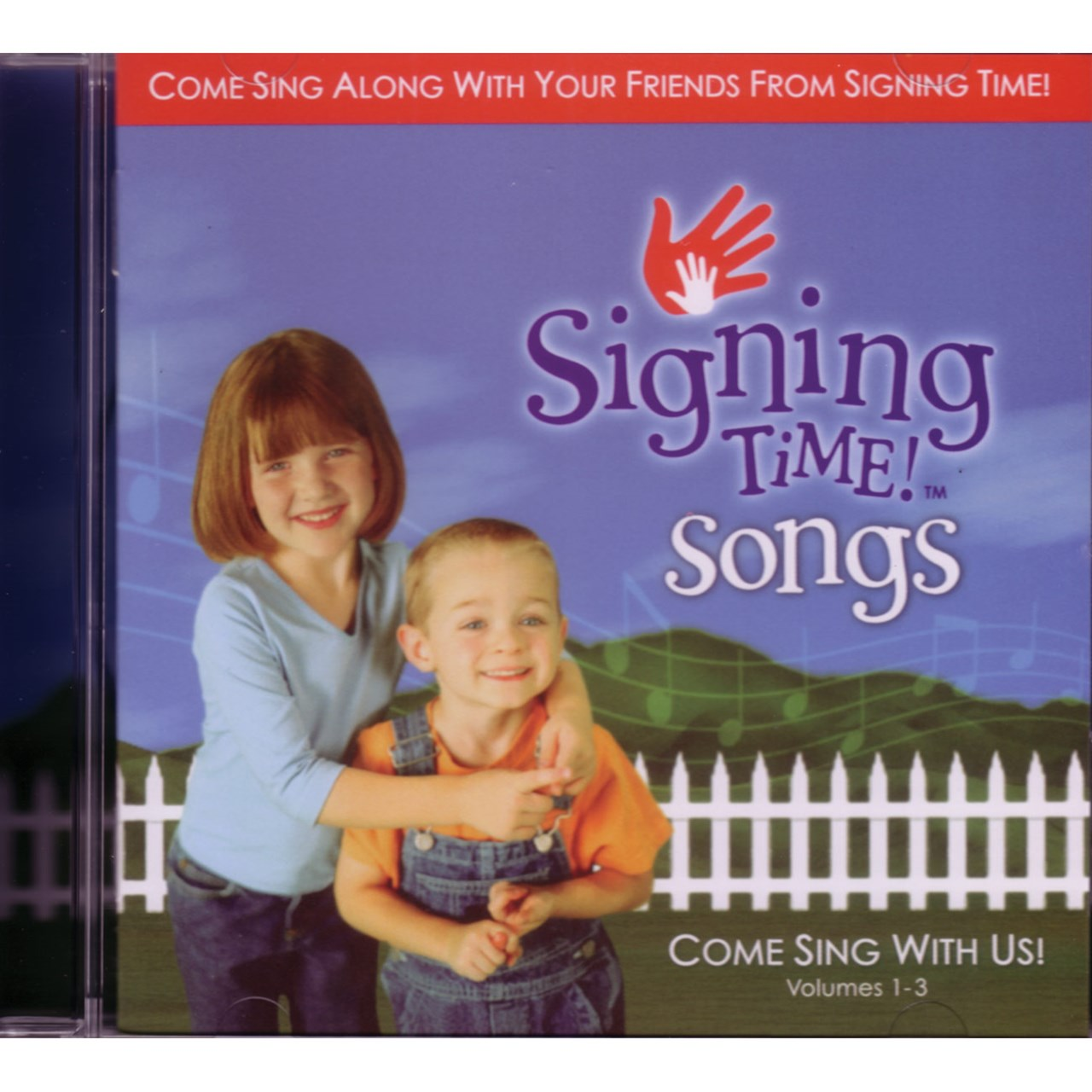 Signing Time Songs - Music CDs -Vol 1-3