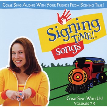 Signing Time Songs Volume 7 - 9 Music CD-Rom
