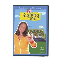 Signing Time Vol. 5 - ABC Signs -DVD
