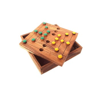 Strategy Tactile Wooden Game