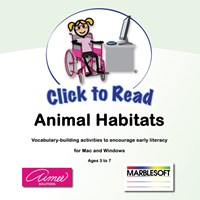 Click to Read- Animal Habitats-One User -Software