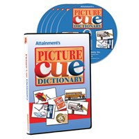 Picture Cue Dictionary Software- Five CDs