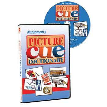 Picture Cue Dictionary Software- One CD