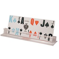 Plastic Playing Card Holders 10 inches Long