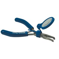 Picture of Pleezers 5x Magnifying Pliers- Bent Tip