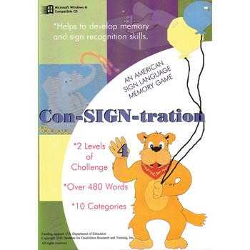 Con-SIGN-Tration 4 -CDRom
