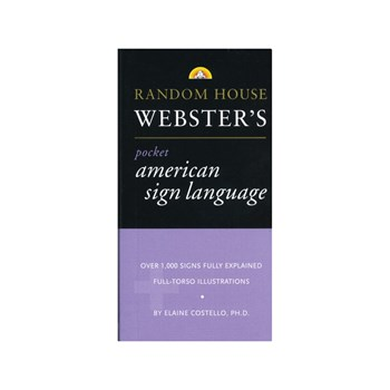 Random House Websters- Pocket ASL Dictionary