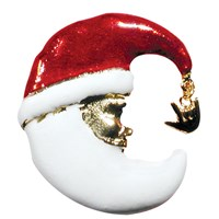 Santa Claus - I Love You Pin