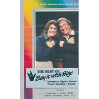 Say It With Sign- Volume 1 -VHS