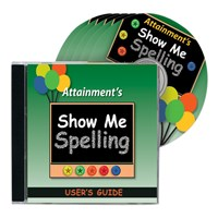 Show Me Spelling Software- Five CDs