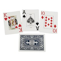 Jumbo Index Low Vision Playing Cards, .50 inch