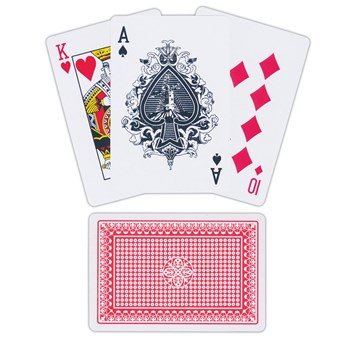 Jumbo Playing Cards for Low Vision