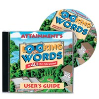 Looking for Words Software- One CD