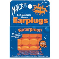 Macks Pillow Soft Earplugs - Kids Size- 6 Pairs