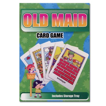 Old Maid Classic Flash Card Matching Game
