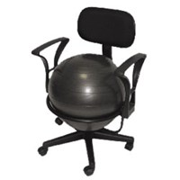 Picture of Ball Chair - Black