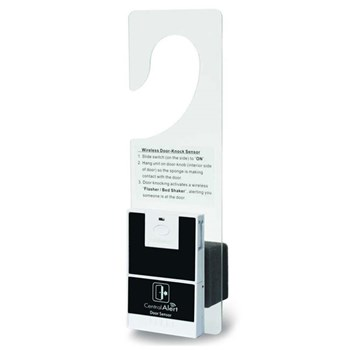 Door Hanger with Door Knock Sensor