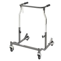 Drive Medical Adult Anterior Safety Walker with Hand Brakes Silver