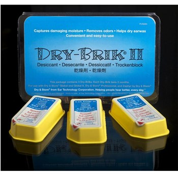 Dry-Brik II Desiccant for Dry and Store- 3-Pack