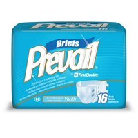 Prevail Briefs- Youth - Waist 15-22in. - Case-96
