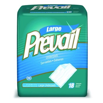 Prevail Disposable Underpads- 23 x 36-in. -72-cs