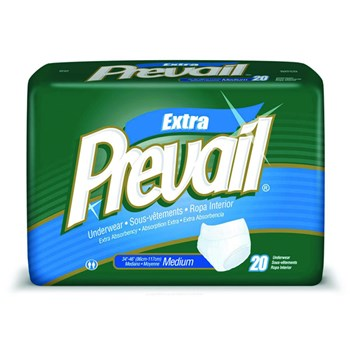 Prevail Underwear- Medium Waist - 34-46in. - 80-cs