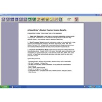eClipseWriter Student-Teacher Single User License