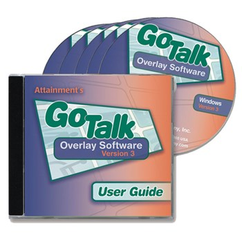 GoTalk Overlay Software v3.0- Five CDs