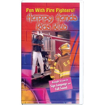 Happy Hands Kids Klub - Fun with Firefighters -VHS