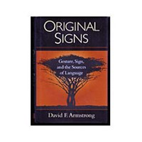 Original Signs - Gesture, Sign, and the Sources of Language