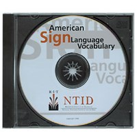 American Sign Language Vocabulary -CD-ROM