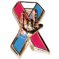 Americas Color Pin With I Love You
