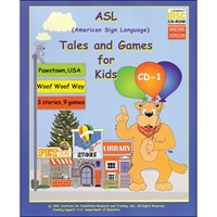 ASL Tales and Games for Kids -CDRom