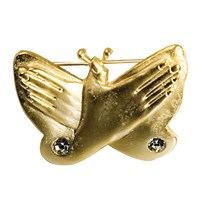 Butterfly Pin - Gold