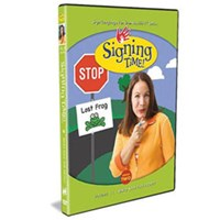 Signing Time Series 2 - Volume 13- Who Has The Frog? -DVD