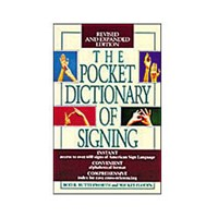 The Pocket Dictionary of Signing