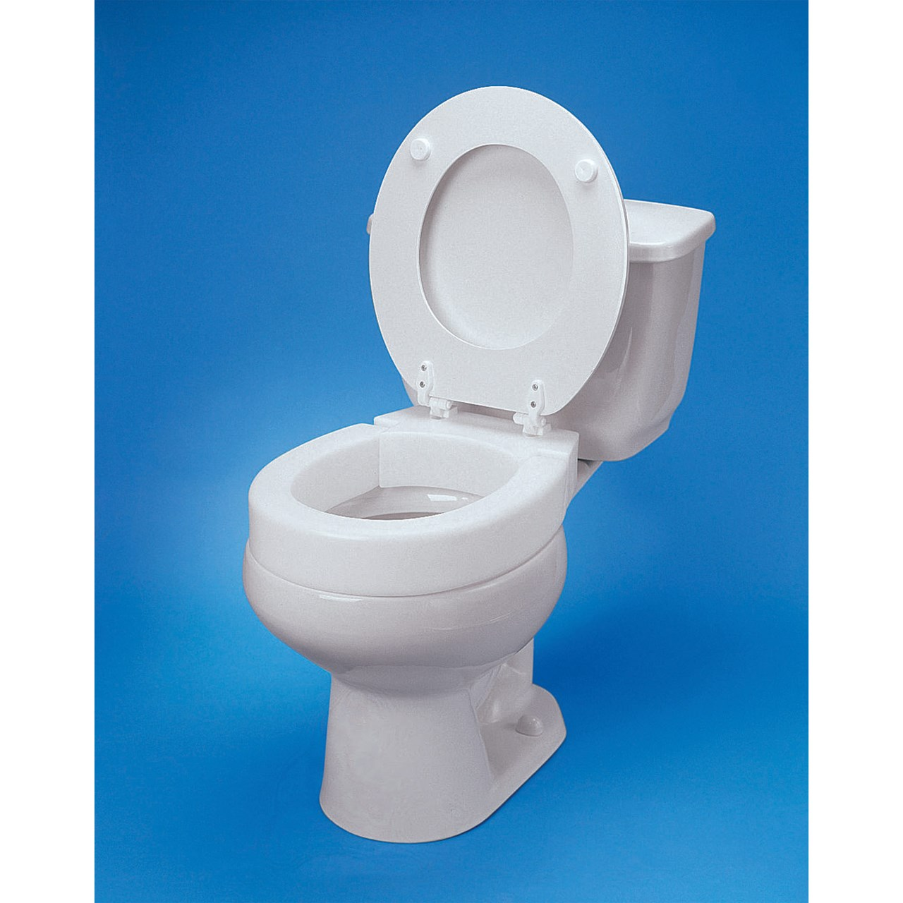 Maxiaids Hinged Elevated Toilet Seat Standard