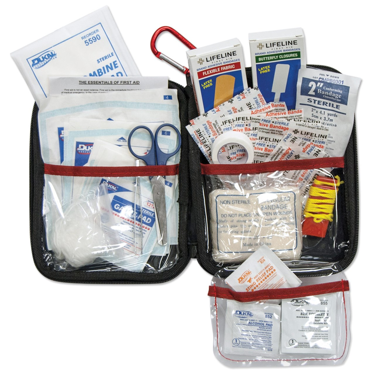 85-Piece Large First Aid Kit with Hard Case