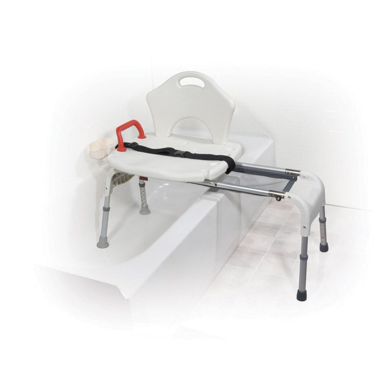 Maxiaids Drive Folding Universal Sliding Transfer Bench