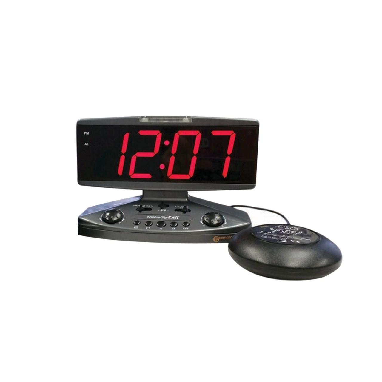 Maxiaids Wake Up Call Alarm Clock With Phone Alert