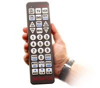 Low Vision TV Remotes