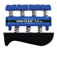 CanDo Digi-Flex Hand and Finger Exerciser - Blue - Heavy Intensity