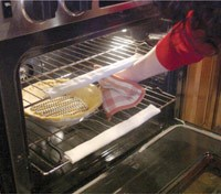 Oven Mitts and Safety