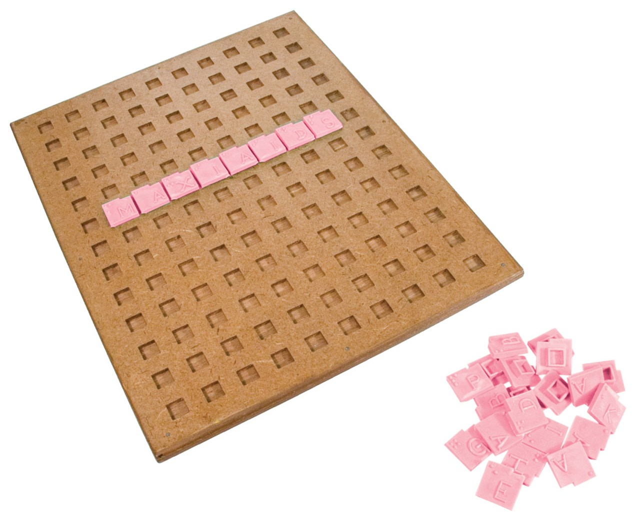 Maxiaids Tactile Braille Crossword Puzzle Game