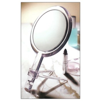 15x - 1x Two-Sided Handheld Mirror with Stand
