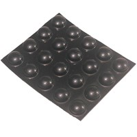 Bump Dots - Medium, Black, Round
