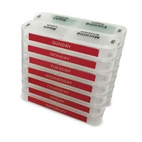 MedCenter SmartPack Weekly Pill Organizer Set